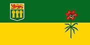 Vlag Saskatchewan